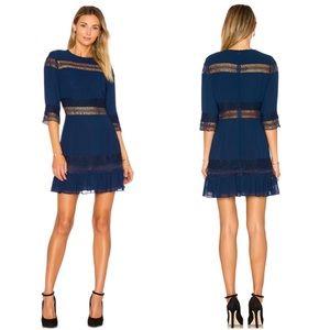 Revolve Tularosa Asher Dress Navy XS